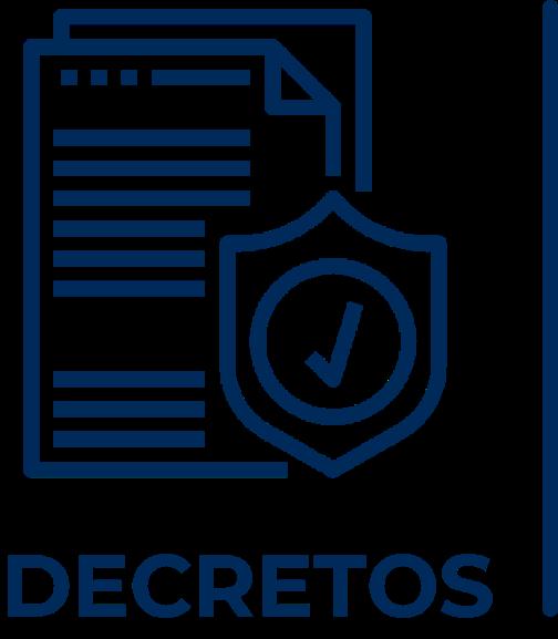 Icono que representa los decretos