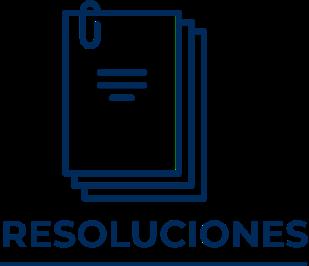 Icono que representa las resoluciones