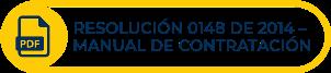 Botón amarillo con texto Resolución 0148 de 2014